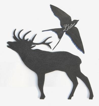 Decor mural animaux